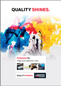 Colorants for inkjet and stationery inks